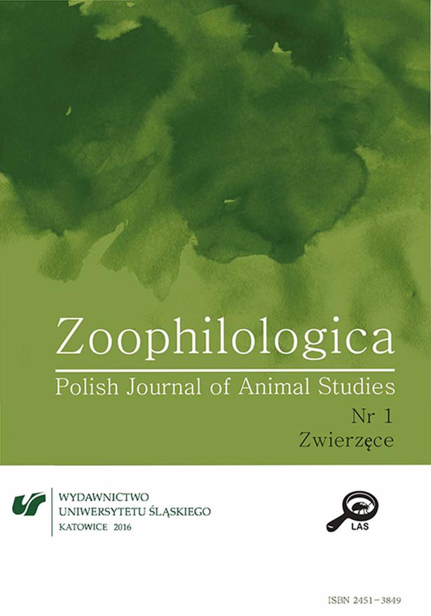 Zoophilologica – T.1 (2015) – Zwierzęce