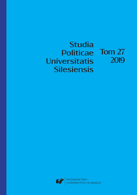 Studia Politicae Universitatis Silesiensis - okładka 27 - 2019